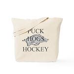 Puck Hogs Hockey Tote Bag