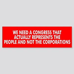 CONGRESS... Bumper Sticker