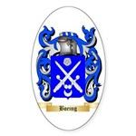 Boeing Sticker (Oval 50 pk)