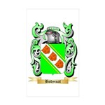 Bodycoat Sticker (Rectangle 50 pk)