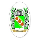 Bodycoat Sticker (Oval 50 pk)