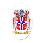 Bodsworth Oval Car Magnet