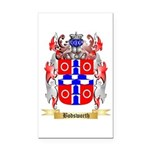 Bodsworth Rectangle Car Magnet