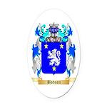 Bodson Oval Car Magnet