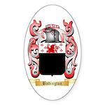 Bodington Sticker (Oval 10 pk)