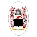 Bodington Sticker (Oval 50 pk)