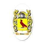 Bodie Oval Car Magnet