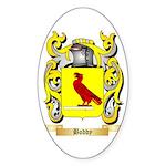 Boddy Sticker (Oval 50 pk)