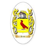 Bodd Sticker (Oval 50 pk)