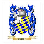Bocquet Square Car Magnet 3