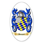 Bocquet Sticker (Oval 50 pk)