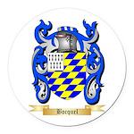 Bocquel Round Car Magnet
