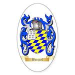 Bocquel Sticker (Oval)