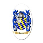 Bocquel 35x21 Oval Wall Decal