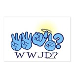 WWJD? Postcards (Package of 8)