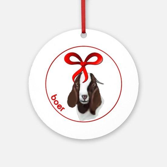 Goat Christmas Boer Doe Ornament