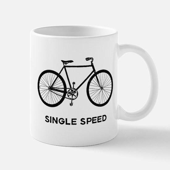 Single Speed Bicycle Mug