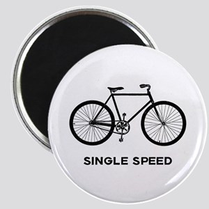 Single Speed Bicycle Magnet