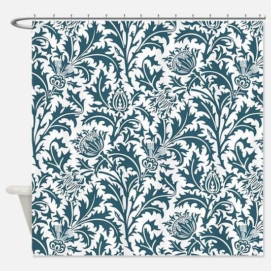 Elegant William Morris Nature Floral Pattern
