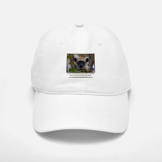 Golden Crowned Lemur Baseball Baseball Cap
