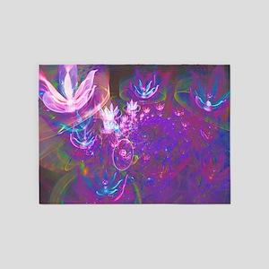 Colorful Dream 5'x7'Area Rug