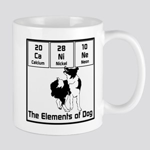 Elements of Dog Mug