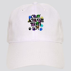Crazy Jack Russell Terrier Lady Cap