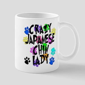 Crazy Japanese Chin Lady Mug