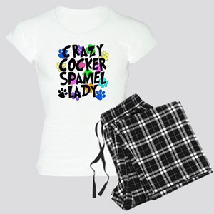 Crazy Akita Lady Women's Light Pajamas