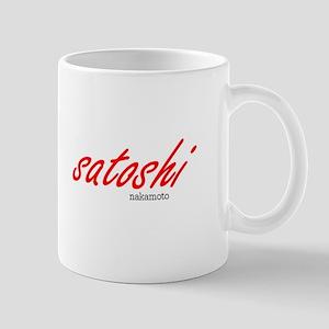 Satoshi Red Mug