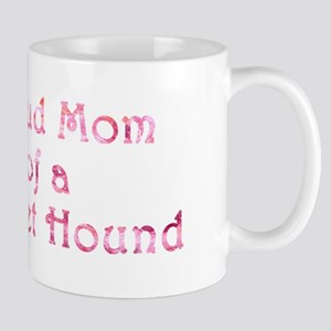 Proud Mom of a Basset Hound Mug