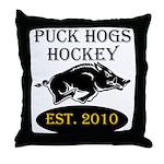 Established 2010 Throw Pillow