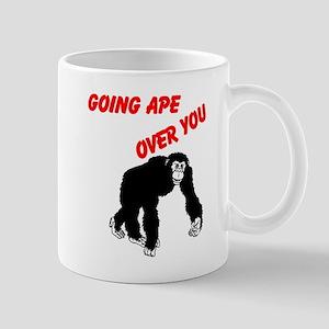 GOING APE OVER YOU Mug