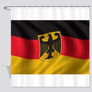 Flag of Germany Shower Curtain