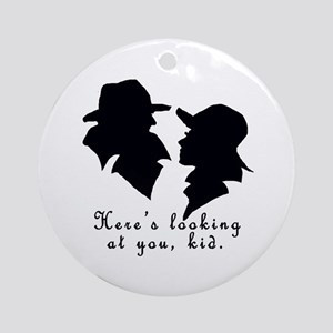Heres Looking at You Kid Ornament (Round)