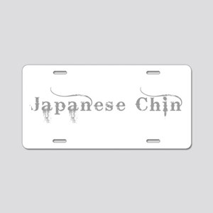 Japanese Chin Aluminum License Plate