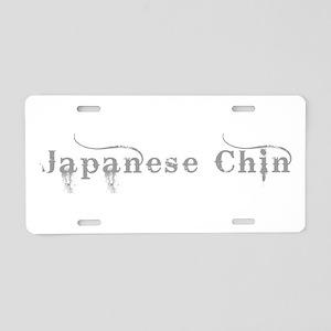 Japanese Chin Aluminum License Plate