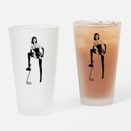 THE Dominatrix Drinking Glass