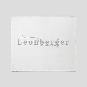 Leonberger Throw Blanket