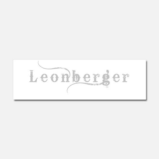 Leonberger Car Magnet 10 x 3