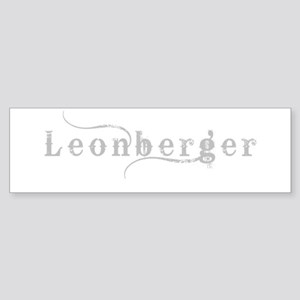 Leonberger Sticker (Bumper)