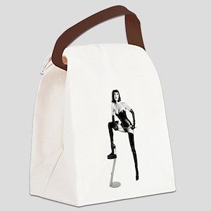 THE Dominatrix Canvas Lunch Bag