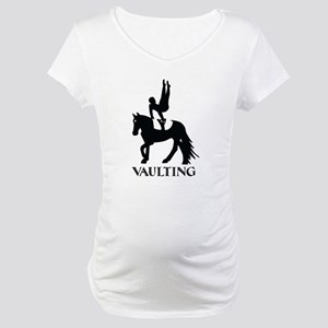Vaulting Silhouette Maternity T-Shirt