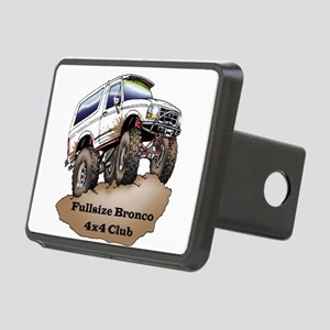 Classic Fullsizebronco.com Design Hitch Cover