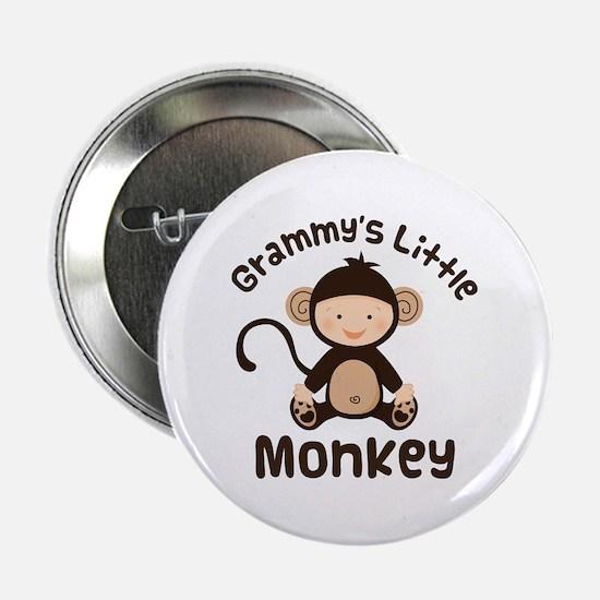 """Grammy Grandchild Monkey 2.25"""" Button"""