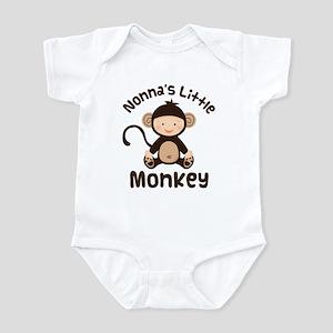 Nonna Grandchild Monkey Infant Bodysuit