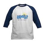 WWJD? Kids Baseball Jersey