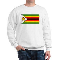 Zimbabwe Blank Flag Sweatshirt