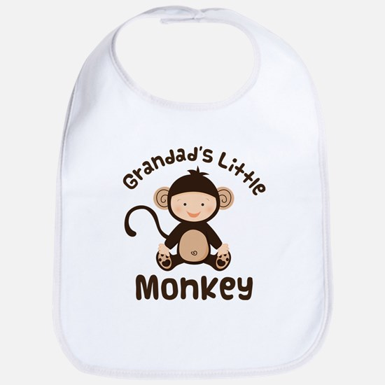 Grandad Grandchild Monkey Bib