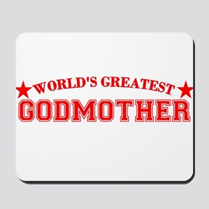 Worlds Greatest Godmother Mousepad